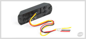 Cell2  - MS26 (M35) - ECE-R65 Class 2. Very Compact Dual, extremely powerful module with 12 super bright LEDs. Available in Surface mount and a variety of colours, including two colour.