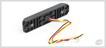 Cell2  - MS6 - ECE-R65 Class 2. Very Compact, extremely powerful module with 6 super bright LEDs. Available in Hood or Surface mount and a variety of colours, including dual colour.